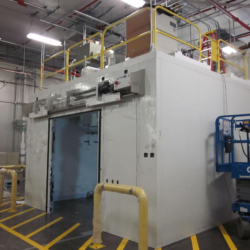 Genentech Transcritical CO2 Freezer Cold Room